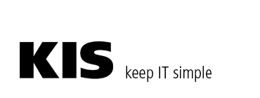 KIS | keep IT simple